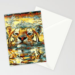 AnimalArt_Tiger_20170601_by_JAMColorsSpecial Stationery Cards
