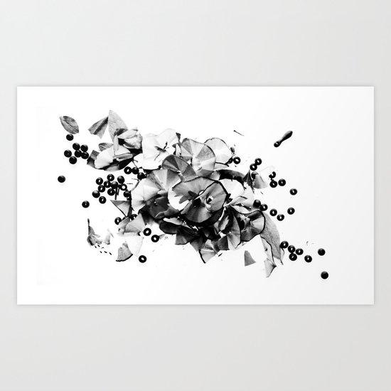 Maderas Neuronales Art Print