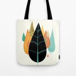 Fair Forest- Retro Orange Palette Tote Bag