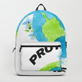 Protector of the Earth Environmental Awareness Backpack