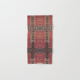 Antique Persian Red Rug Hand & Bath Towel