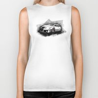 honda Biker Tanks featuring Honda Civic Type-R by an.artwrok