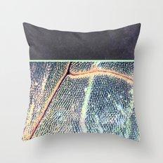 concrete.dragOnfly Throw Pillow