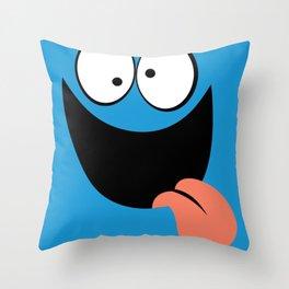 Bloo Throw Pillow