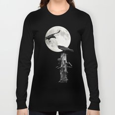 The Raven at midnight Long Sleeve T-shirt
