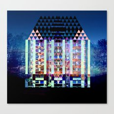Mad Hatter's House Canvas Print