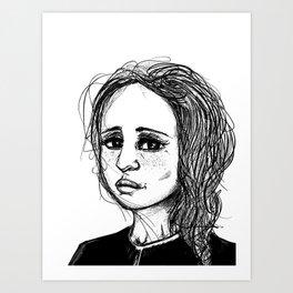 Inktober 2018 - 2 Art Print