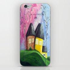 House A Home iPhone & iPod Skin