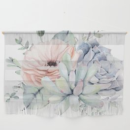 Pretty Succulents by Nature Magick Wall Hanging