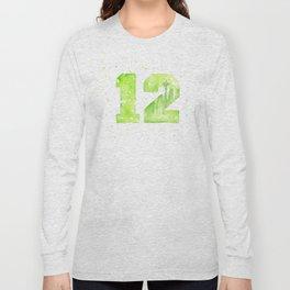 12th Man Seattle Art Long Sleeve T-shirt