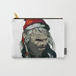 Zombie Claus Carry-All Pouch