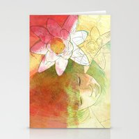 child Stationery Cards featuring child by Sabine Israel