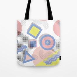 Memphis Geometric Pattern Tote Bag