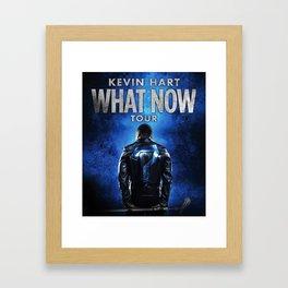 KEVIN HART WHAT NOW TOUR DATES 2019 JARJIT Framed Art Print