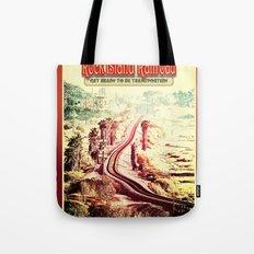 Rock Island Railroad Poster Tote Bag