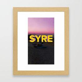syre Framed Art Print