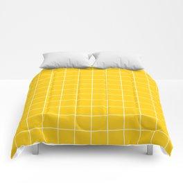 Sunshine Grid Comforters