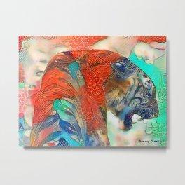 Tiger's Realm Metal Print