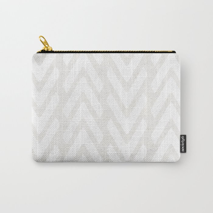 Chevron Tracks Carry-All Pouch