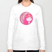 princess bubblegum Long Sleeve T-shirts featuring Princess Bubblegum by gaps81
