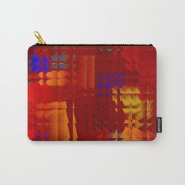 Square glass  5 Carry-All Pouch