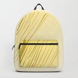 Eth. design lines, gold Backpack