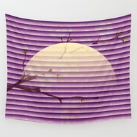 blossom Wall Tapestries featuring Blossom by Mr and Mrs Quirynen