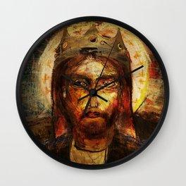 A Portrait of Christ Wall Clock
