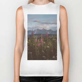 Mountain vibes - Landscape and Nature Photography Biker Tank