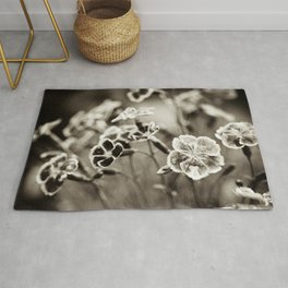 Where Wild Bee Wings Fly Rug