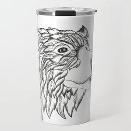 Feather Bear Travel Mug