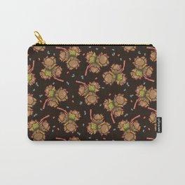 Dark hazelnuts pattern Carry-All Pouch