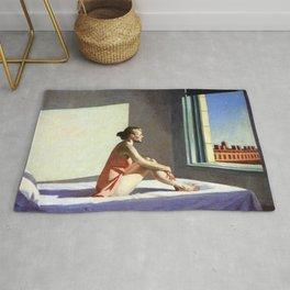 Morning Sun - Edward Hopper Rug