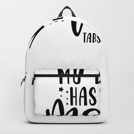 Tote Bag My Brain Has Too Many Tabs Open Backpack