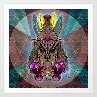 Ancestral Energy Art Print