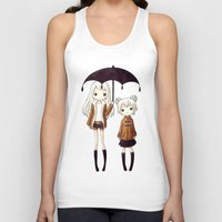 sisters Tank Tops featuring Sisters by Freeminds