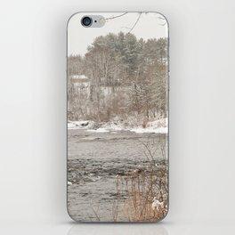 Madawaska in Winter iPhone Skin