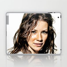 Kate from LOST (Evangeline Lilly) - Colored Pencil Work Laptop & iPad Skin