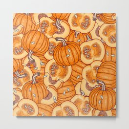 pumpkin dream Metal Print