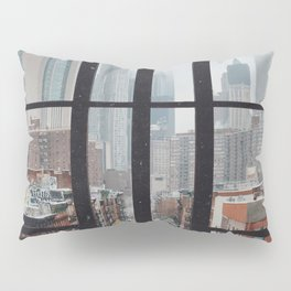 New York City Window Pillow Sham