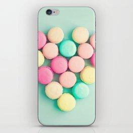 Macarons, macaroons heart II, pop art iPhone Skin