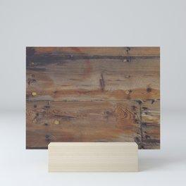 Shipboard Planks Mini Art Print