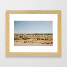 Out In West Texas Framed Art Print