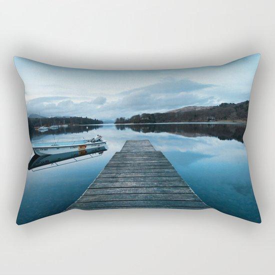 Coniston Jetty Rectangular Pillow