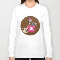 rockabilly Long Sleeve T-shirts featuring  rockabilly love by Kopfzirkus