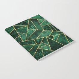 Deep Emerald Notebook