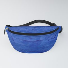 Pretty Blue Cases - Ombre - Stucco - Pillow - Classic Blue - Shower Curtains Fanny Pack