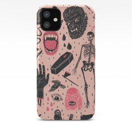 Whole Lotta Horror iPhone Case