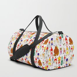 Fast Food Butts Mascots Duffle Bag