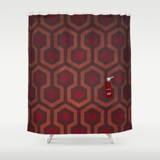 the Shining Rug & Room 237  Shower Curtain